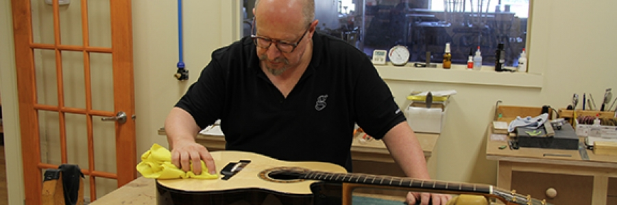 Masterclass of lutherie for acoustic guitar, with Michael Greenfield - 2nd lesson