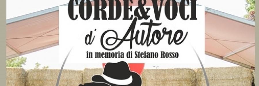 Corde & Voci d'autore, in memory of Stefano Rosso