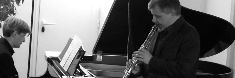 Pietro Tagliaferri, clarinet, Francesco Attesti, piano