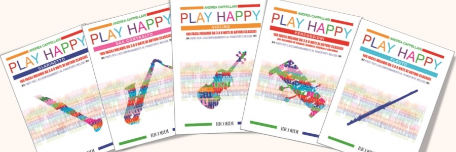 Presentation of the books series 'Play Happy', by Andrea Cappellari