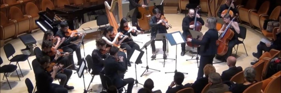 "Concert of the string orchestra of the Music High School ""A.Stradivari"" in Cremona"
