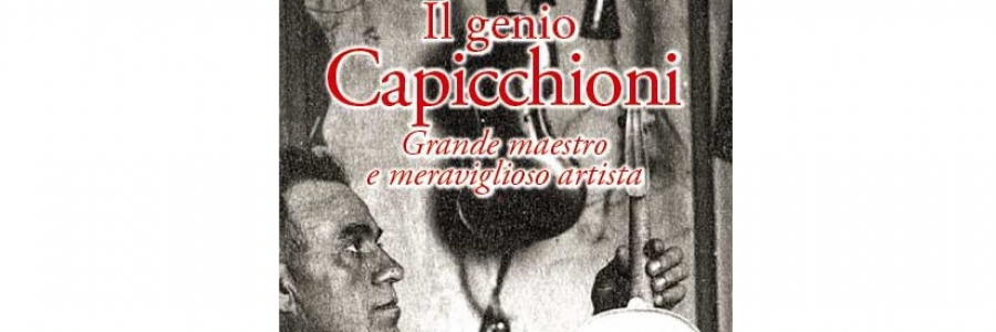 Presentation of the book and documentary 'The Capicchioni Genius'
