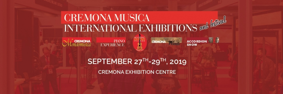 Official inauguration of Cremona Musica 2019