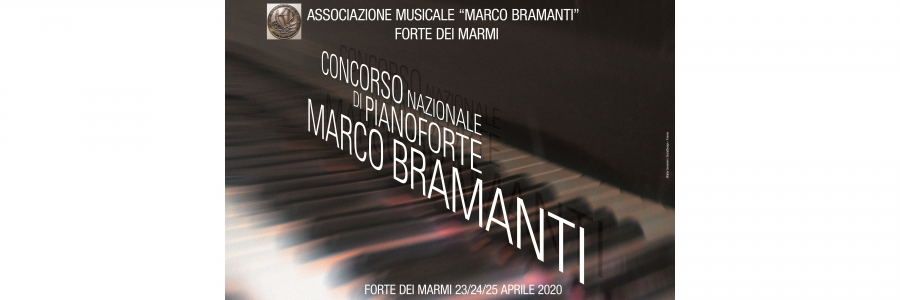 Presentation of the XVIII National Piano Competition 'Marco Bramanti'