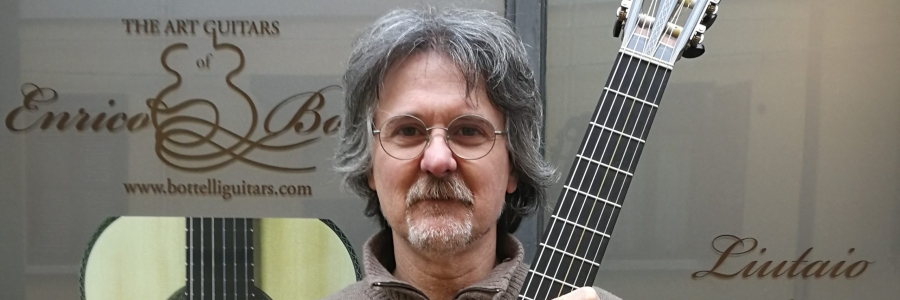 Guitar lutherie masterclass with Enrico Bottelli, lesson 1