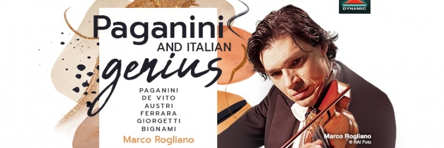 Marco Rogliano in concerto presenta il suo CD 'Paganini and Italian Genius'